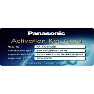 Activation Key Card IP softphone IP-PT KX-NCS4208